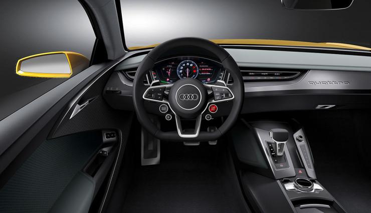 Audi Sport quattro concept  Hybrid Lenkrad