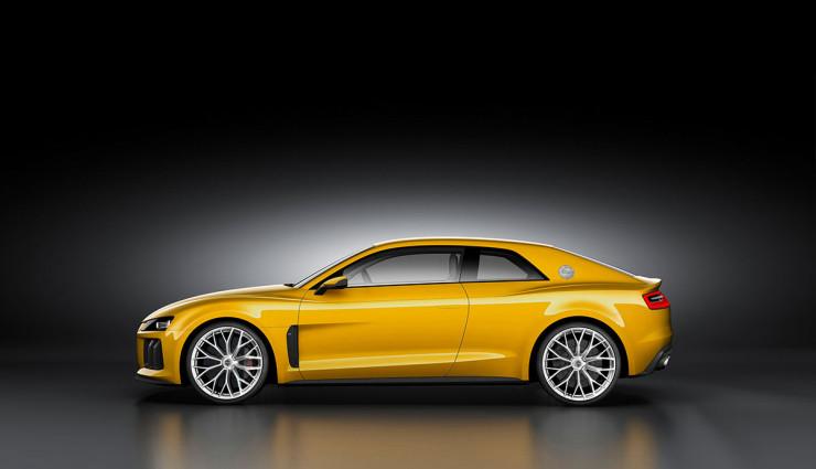 Audi Sport quattro concept Hybrid Seite