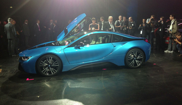 BMW i8 Plug-in-Hbyrid IAA 2013 Serienversion Seite