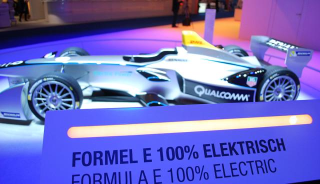 Formel E Rennwagen IAA 2013