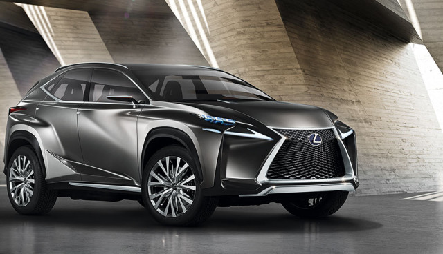 Lexus Hybrid-SUV LF-NX IAA 2013