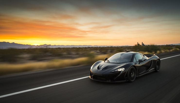McLaren-P1-Hybrid-schwarz-Front