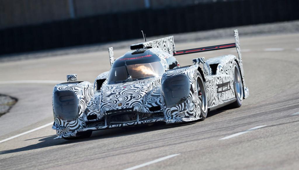 Porsche-Hybridrennwagen-LMP1