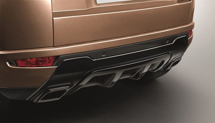 Rover Evoque Hybrid Heck