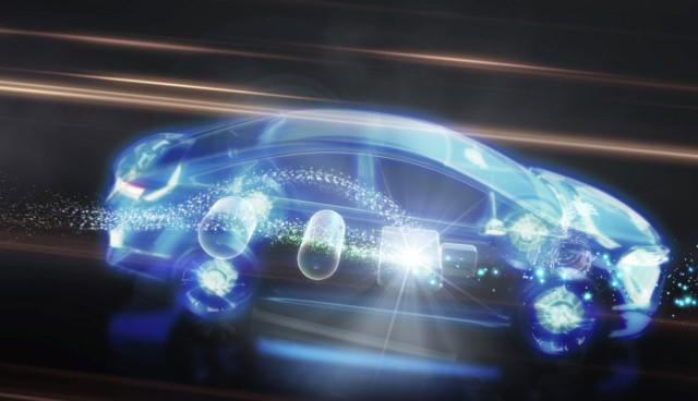 Toyota-Brennstoffzellenauto