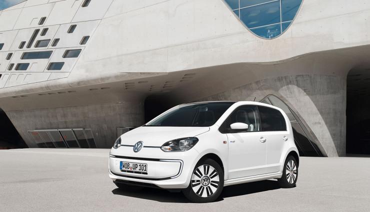 VW Elektroauto e-up! Front