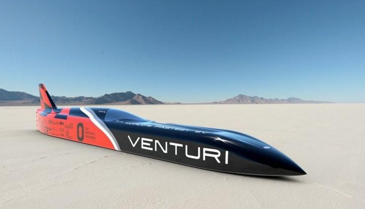 Venturi VBB-3 Elektroauto Geschwindigkeitsrekord