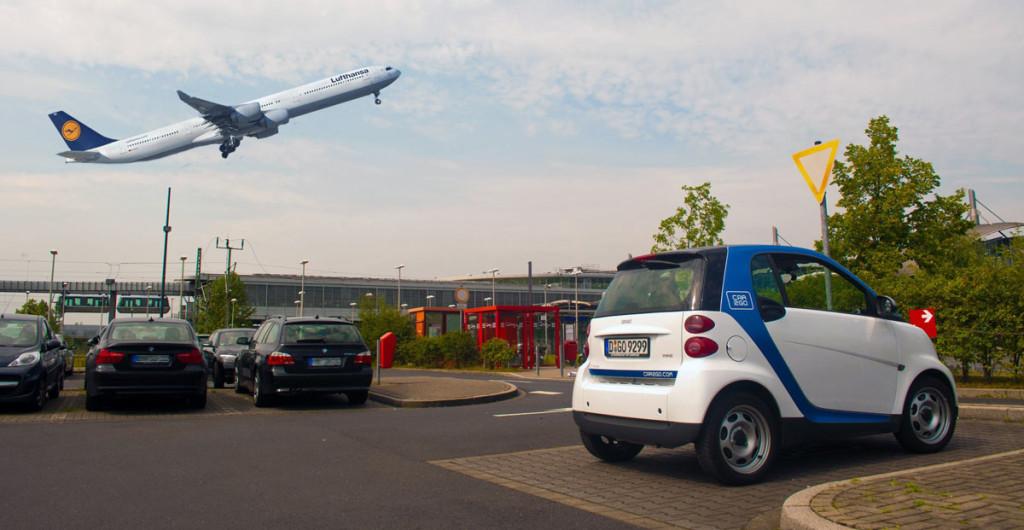 Car2go Köln Flughafen