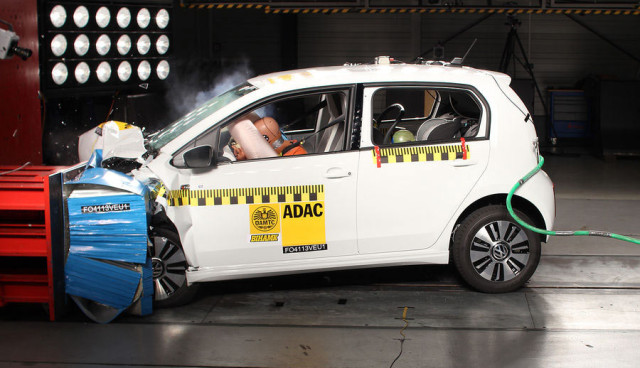 ADAC-Crashtest-VW-E-Up