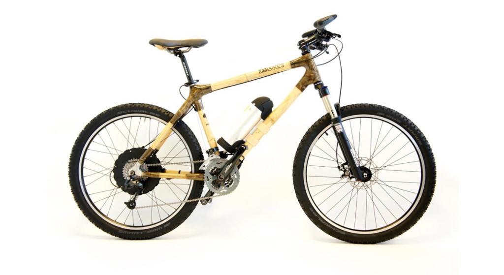 E-Bike-Beast-e-wheels,-Bambus