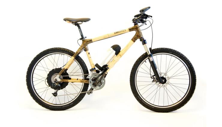 """The Beast"": Mountainbike aus Bambus mit Elektrounterstützung (Video)"