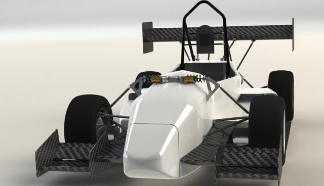 Elektroauto-Geschwindigkeits-Rekord-DUT-13
