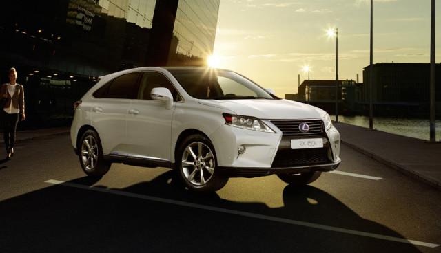 Hybrid-SUV-Lexus-RX-450h-Front-Sondermodell