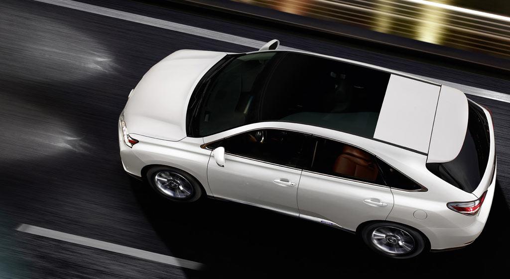 hybrid suv lexus rx 450h als sondermodell mit neuer front. Black Bedroom Furniture Sets. Home Design Ideas