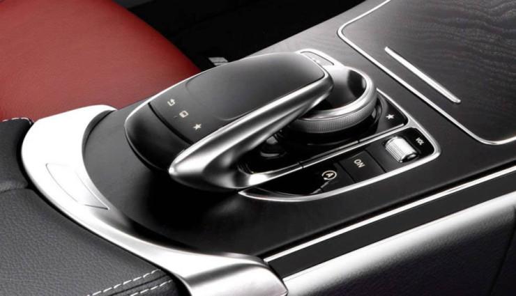 Mercedes-C-Klasse-Hybrid-Schaltung