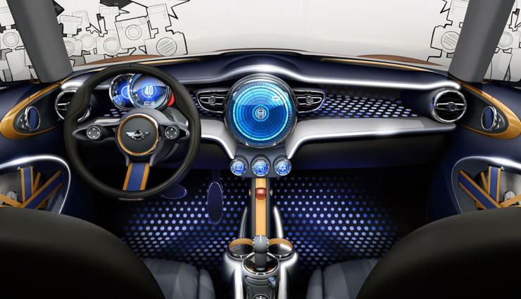 Mini-Plug-in-Hybrid-Innenraum