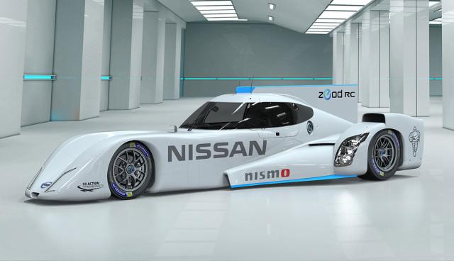 Nissan ZEOD RC Elektro-Rennwagen