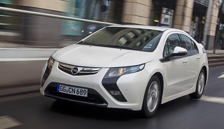 Der baugleiche Opel Ampera