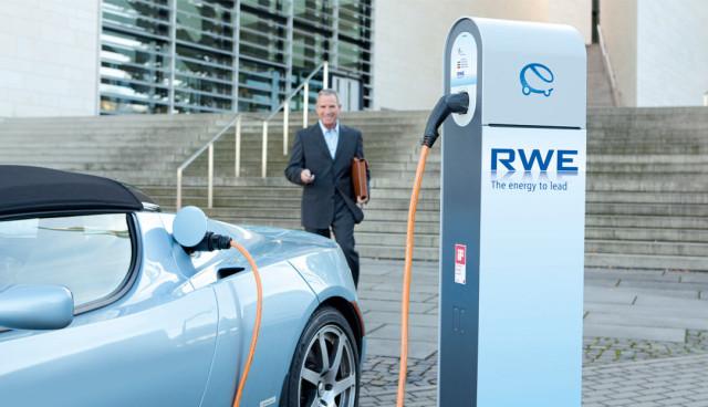 RWE-Elektroauto-Stromtankstellen