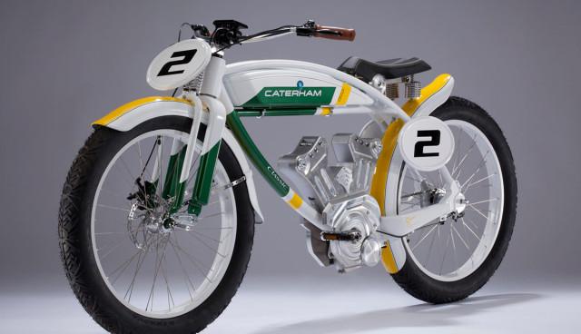 Caterham Elektromotorrad Classic E-Bike