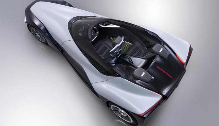 Elektroauto Dreisitzer Nissan BladeGlider