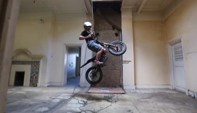 Elektromotorrad-Video