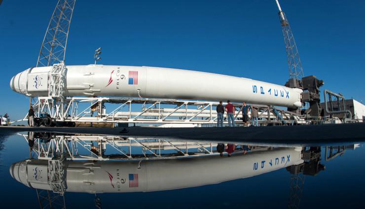 Elon-Musk-SpaceX-Rakete