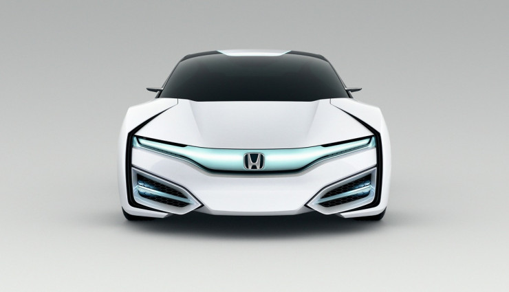Honda FCEV Concept Wasserstoff Front
