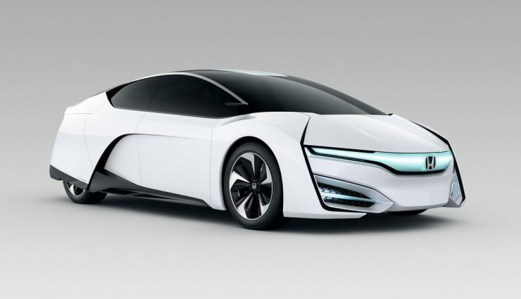 Honda FCEV Concept Wasserstoff Seite