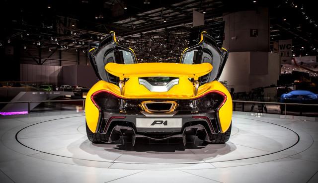 Hybridsportwagen McLaren P1 ausverkauft