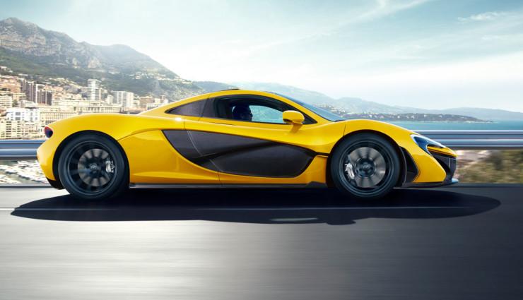 McLaren-P1-Hybridsportwagen-Seite
