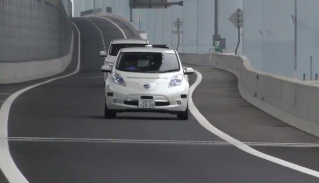Nissan-LEAF-autonomes-Fahren-Video