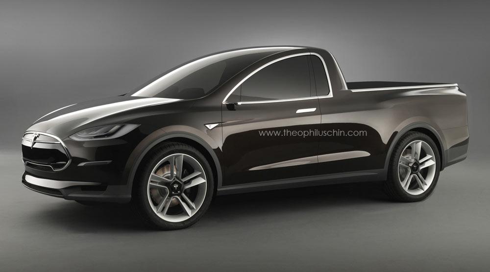 Tesla Elektroauto Pickup