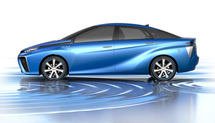 Toyota FV Concept Elektroauto 4