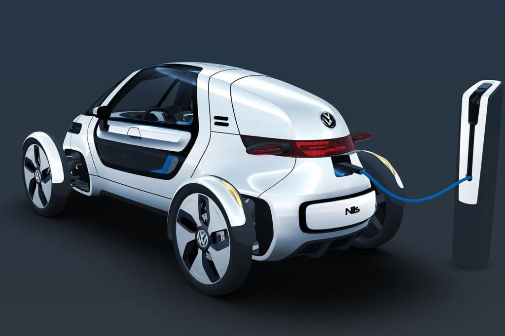 VW Elektroauto Schnelllader-Ladestationen