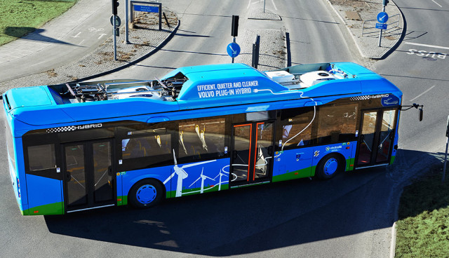 Volvo Plug-in-Hybrid-Bus