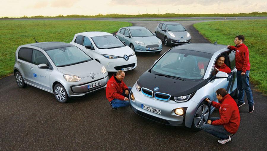 Elektroauto-Kleinwagen-Test