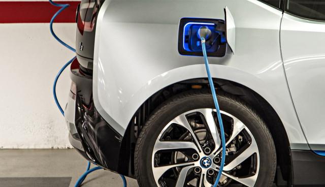 Elektroauto-aufladen