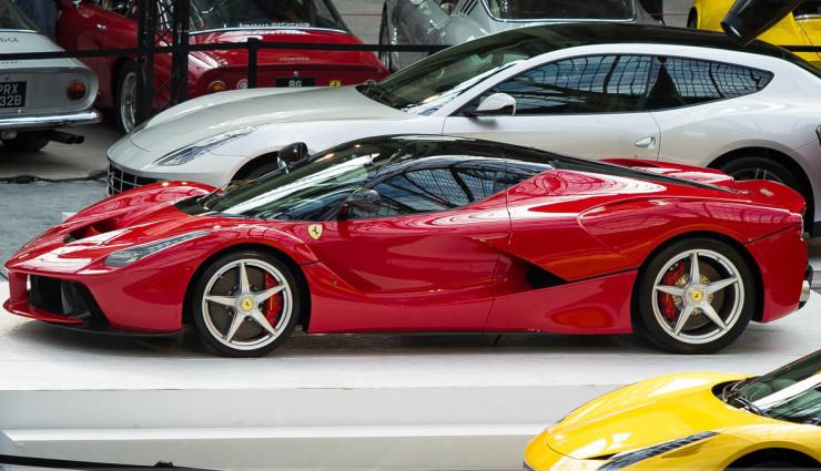 Hybridauto-LaFerrari-ausverkauft