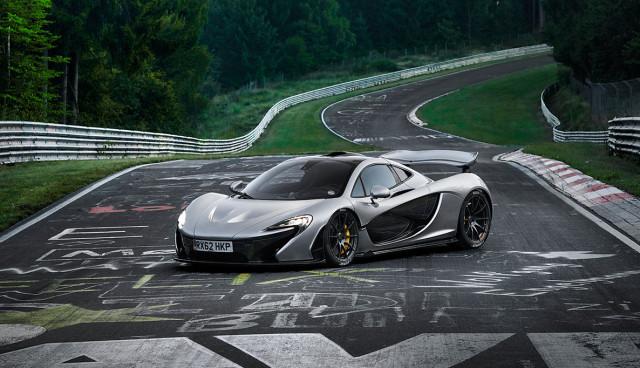 McLaren P1 Nuerburgring