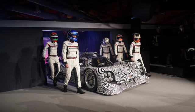 Porsche-919-Hybrid-Rennwagen
