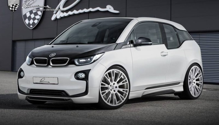 bmw i3 i8 von lumma design elektroautos im tuning gewand. Black Bedroom Furniture Sets. Home Design Ideas