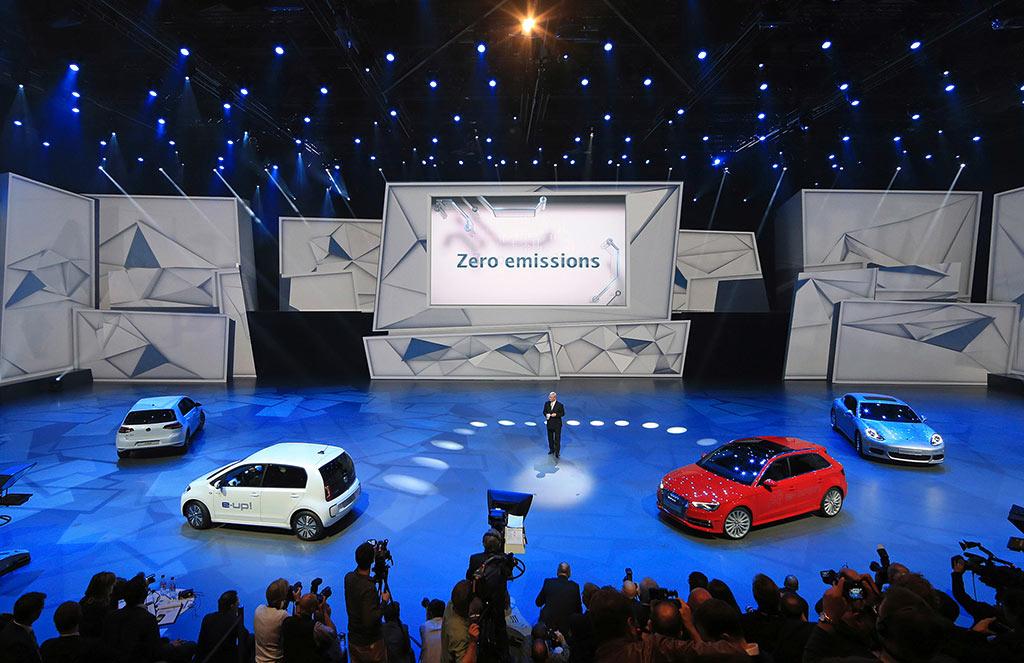 VW Elektroauto Hybridauto