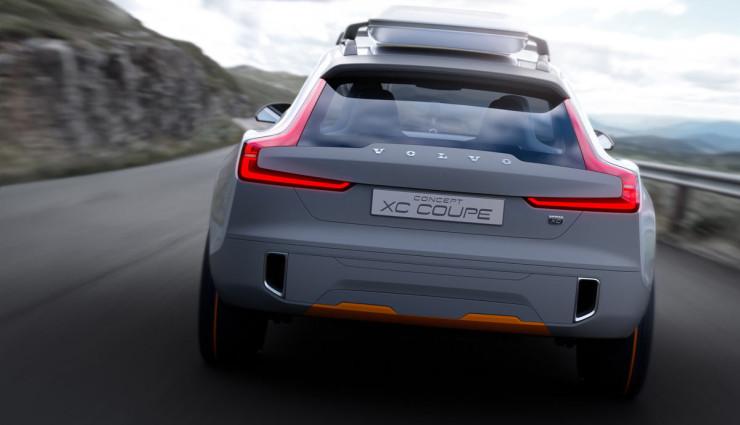 Volvo Concept XC Coupe Heck