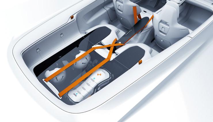Volvo Concept XC Coupe Innen
