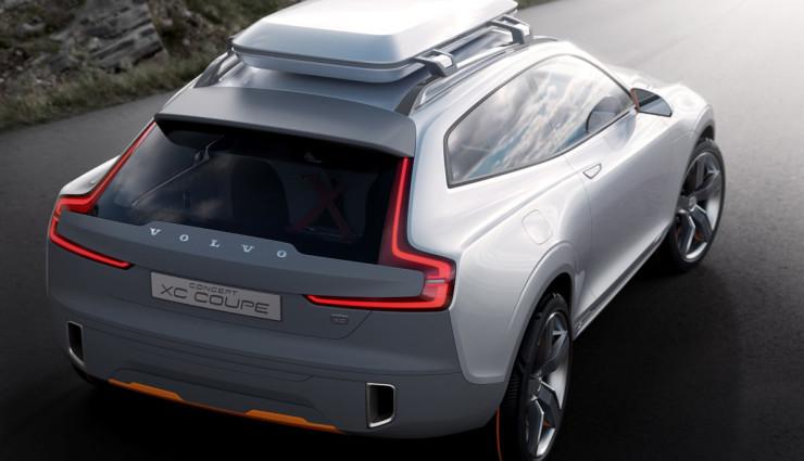 Volvo Concept XC Coupe Seite