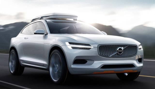 Volvo zeigt möglichen Plug-in-Hybrid-Allradkombi Concept XC Coupé