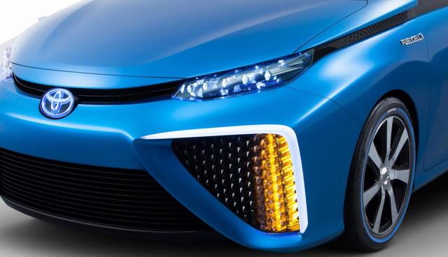 Wasserstoffauto-Toyota-FCV-Concept