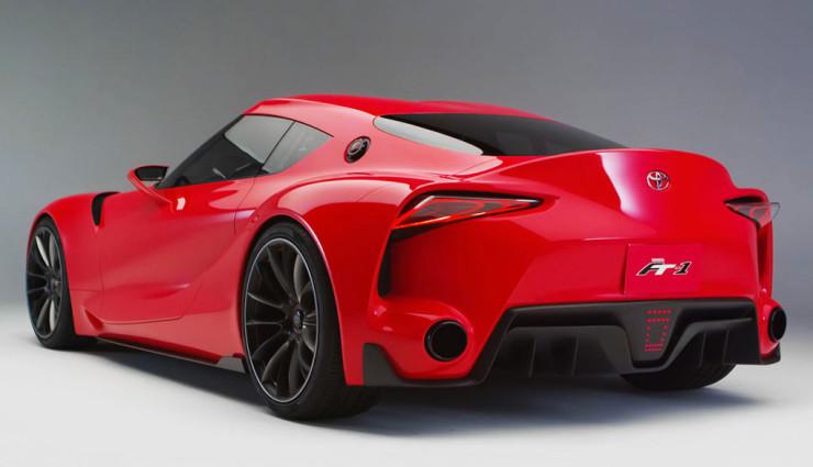 Toyota FT-1  bestätigt : Supra-Nachfolger mit über 400 PS