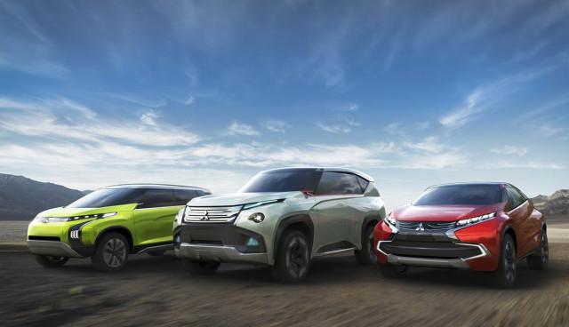 Mitsubishi-Hybridautos-Genf